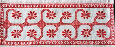 Рубаха мужская Лён, вышивка: жемчужный крест Когай Полина - пошив рубахи, Света Байлук, Яна Горбич - вышивка.